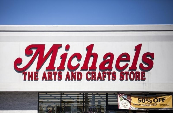 Image: A Michaels arts and crafts store in San Diego
