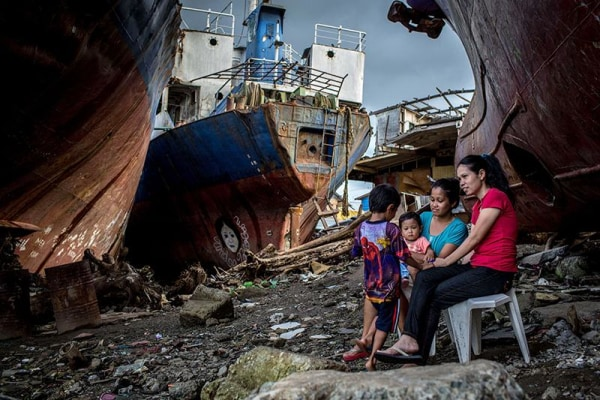 Image: Tacloban's Typhoon Survivors Continue To Rebuild During Holy Week