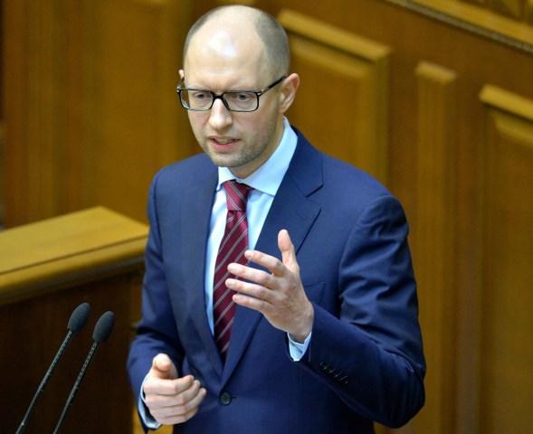 UKRAINE-UNREST-GOVERNMENT-YATSENYUK