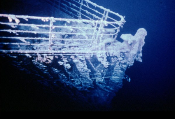 Image: Wreck of the Titanic
