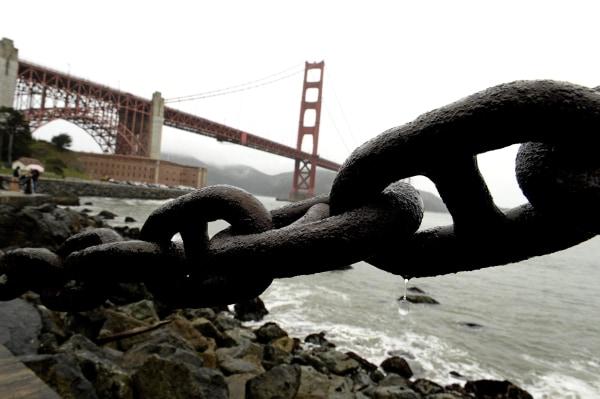 Image: California rain