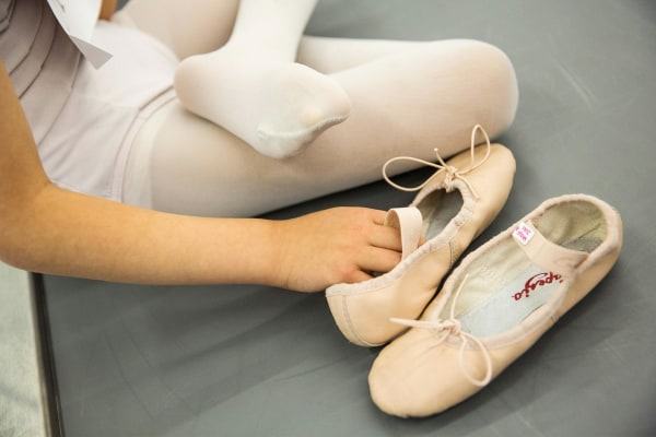 Image: Six-Year-Olds Audition For School Of American Ballet