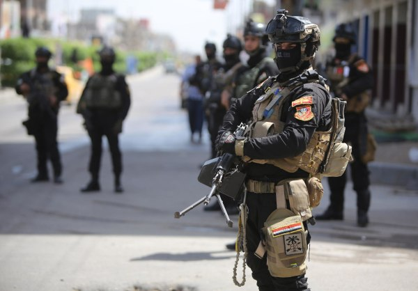 Image: IRAQ-VOTE-SECURITY