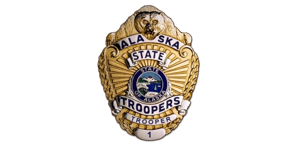 Alaska State Troopers badge.