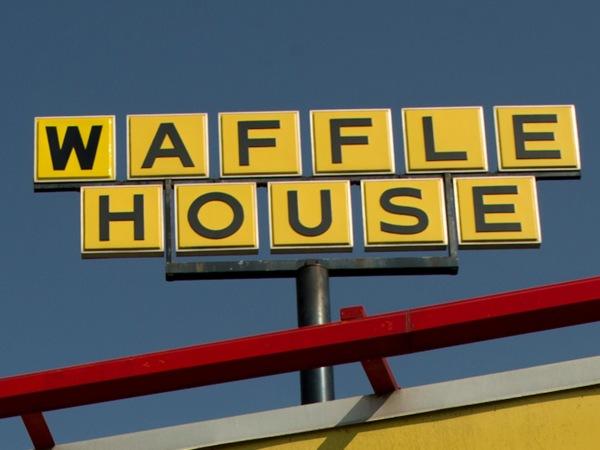 Image: A Waffle House sign