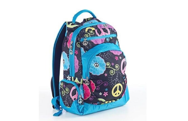 Image: Peace Out backpack by Studio C