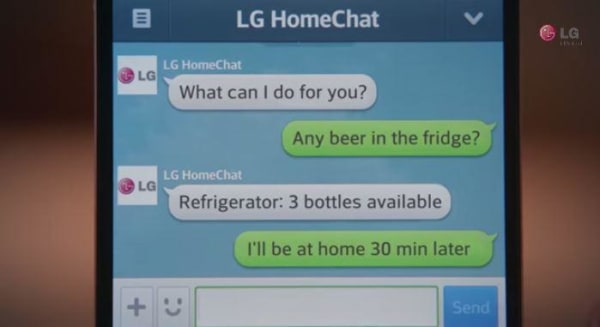 Beer Fridge LG Smart Refrigerator