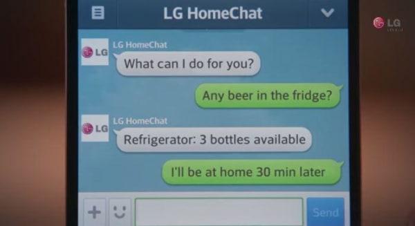 Beer Fridge LG Smart Refrigerator