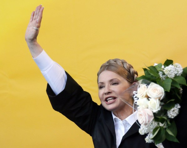 Image: Yulia Tymoshenko on April 30