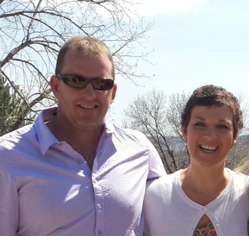 Melinda Bachini and her husband Steve