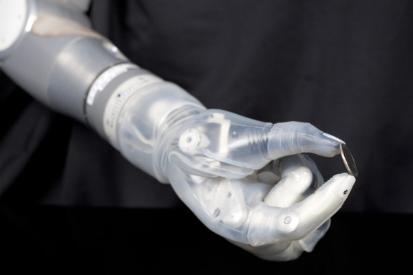 Image: DARPA handout image shows the DEKA Arm System