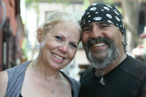Image: Debbie and Chico Jimenez, who run a ministry to help people in poverty