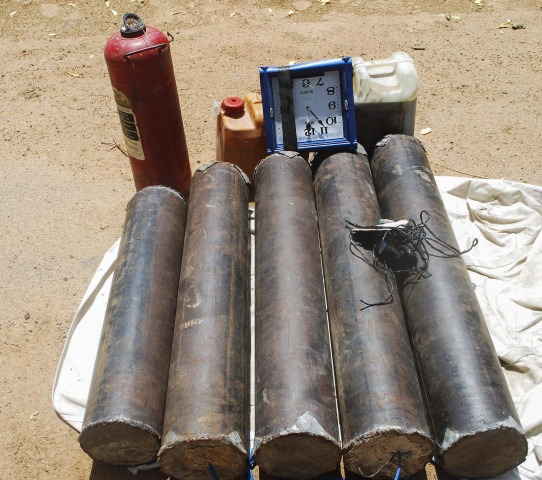 Image: Explosives found in Damaturu, Nigeria