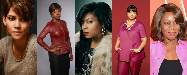 Image: Academy Award winners and nominees Halle Berry, Viola Davis, Taraji P. Henson, Octavia Spencer and Alfre Woodard will light up your TV's this summer and fall headlining shows on ABC, CBS, Fox and NBC.