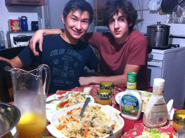 Image: Kadyrbayev, left, with Boston Marathon bombing suspect Dzhokhar Tsarnaev.