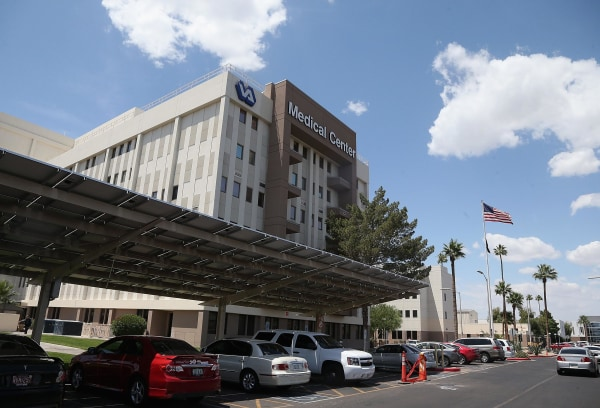 Image: Veteran Affairs Clinics To Be Audited After Patient Deaths At Phoenix Hospital