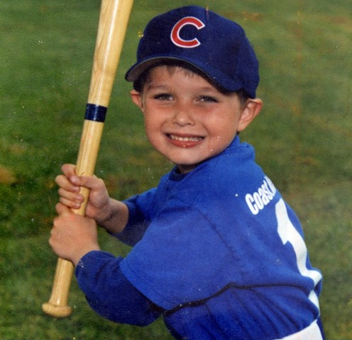 Image: A childhood photo of victim Christopher Martinez who was killed in Saturday night's rampage