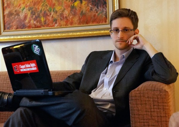 Image: Edward Snowden in Moscow