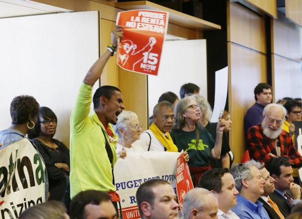 Image: Seattle minimum wage