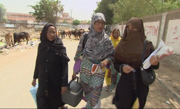 Image: Polio worker GulNaz