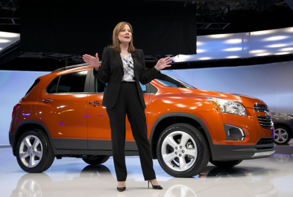 General Motors' CEO Mary Barra is confident the automaker is driving away from the setback of recalling millions of vehicles.