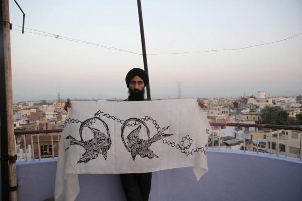 Waris Ahluwalia at work in India