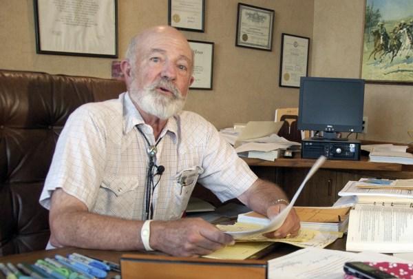 Image: Montana District Judge G. Todd Baugh