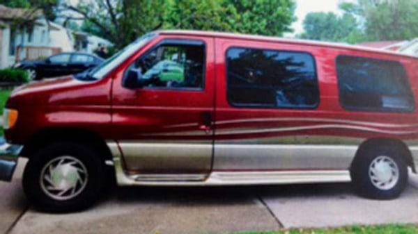 Image: Ray Tomlinson's van