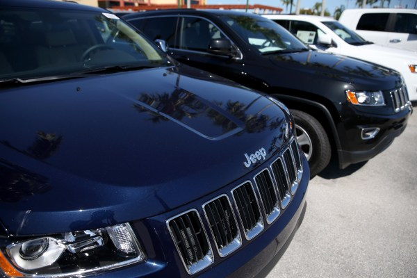 Image: Chrysler Issues Recall On SUVs Over Cruise Control Defect