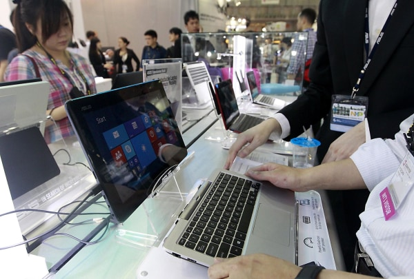 Image: ASUS Transformer Book tablets