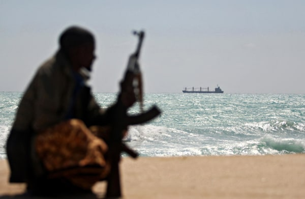 Image: A Somali pirate