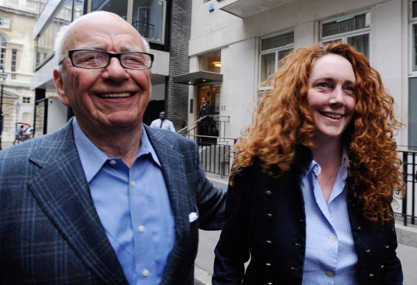 Image: Rupert Murdoch and Rebekah Brooks
