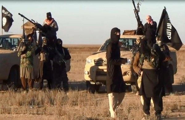 Image: ISIS members