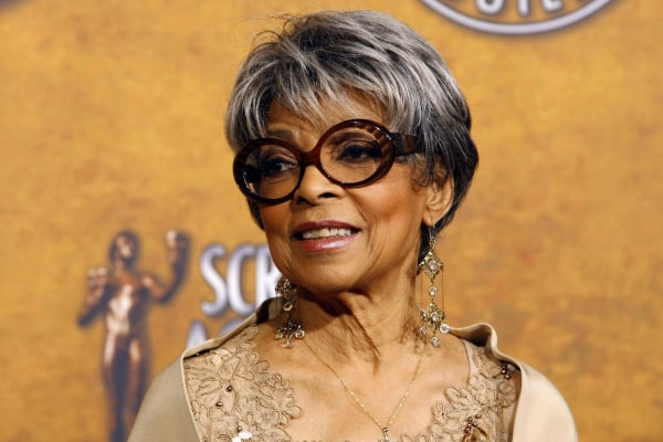 Image: File photo of actress Ruby Dee in Los Angeles
