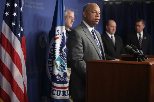 Image: Jeh Johnson Discusses Influx Of Unaccompanied Child Immigrants Into U.S.