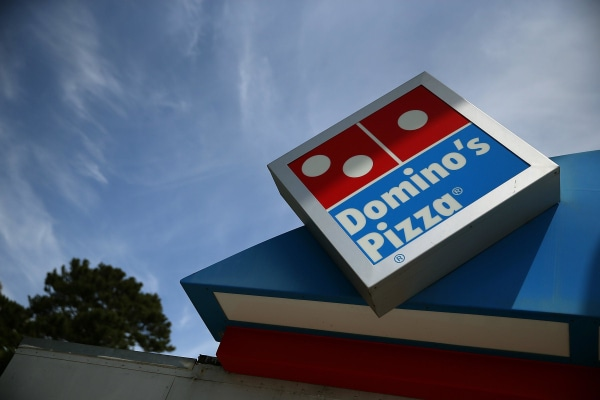 Image: Domino's sign