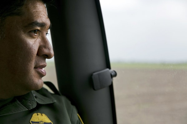 Image: Raul Ortiz, acting chief Border Patrol agent of the Rio Grande Valley Sector, in  Texas.