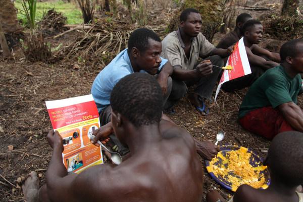 Image: Liberians combat spread of Ebola