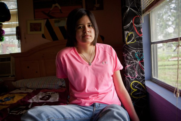 Image: Kristene Chapa, 19, in her bedroom at the Chapa residence on June 11, 2013 in Corpus Christi, TX.