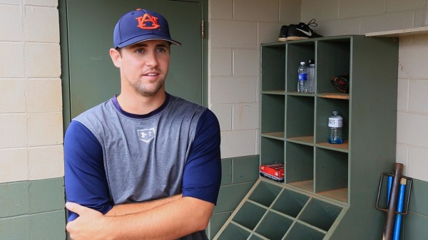 Image: Former Auburn pitcher Dillon Ortman