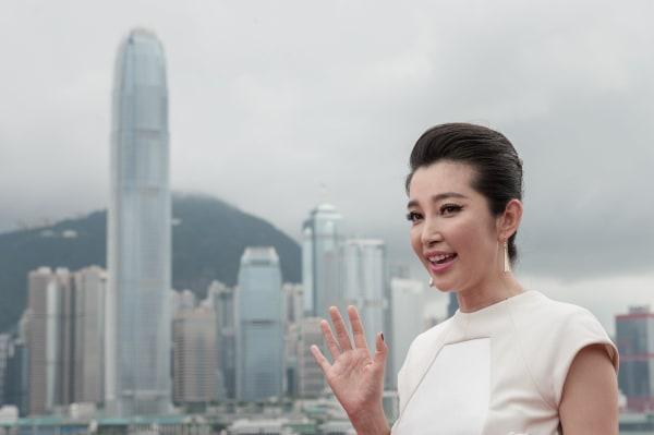 Image: HONG KONG-US-FILM-ENTERTAINMENT