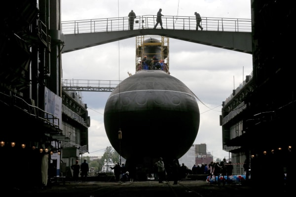 Image: The 'Rostov-on-Don' diesel-electric submarine project 636.3 in St. Petersburg