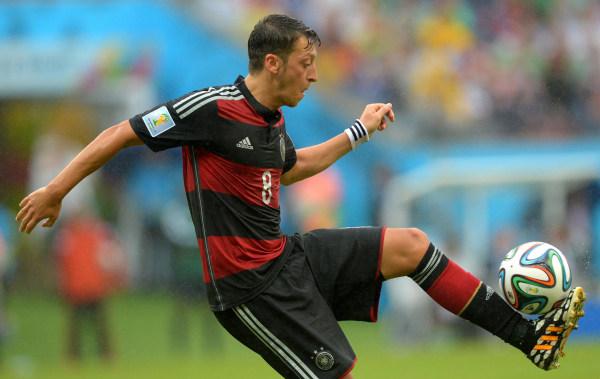 Image: Germany's Mesut Ozil