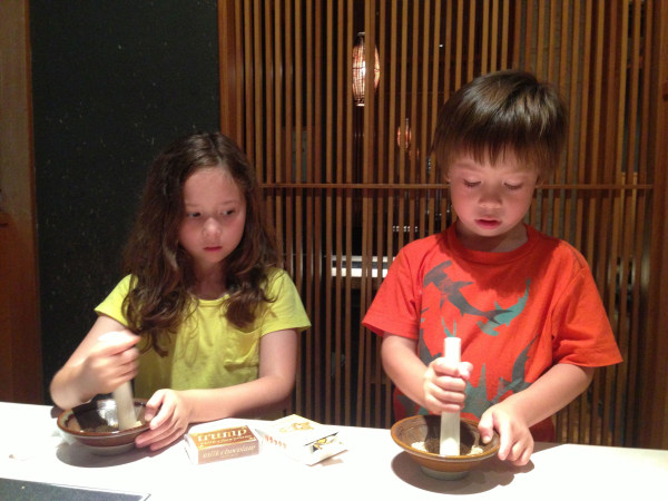 Maya and Kenzo Kajikawa.