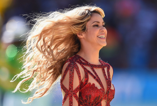 Image: Singer Shakira performs during the closing ceremony prior to the 2014 FIFA World Cup Brazil Final match