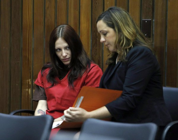 Image: Alix Tichelman arraignment for Forrest Hayes death