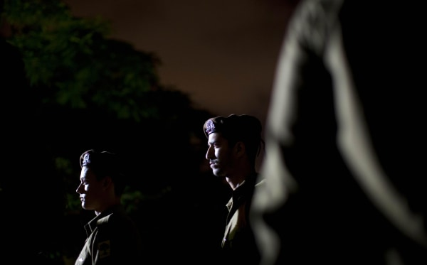 Image: Israeli soldiers attended the funeral of Sgt. Nissim Sean Carmeli