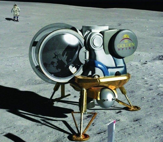 Image: Golden Spike lander