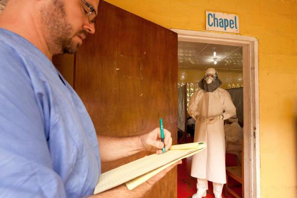 Image: Dr. Kent Brantly of Samaritan's Purse organization in Monrovia