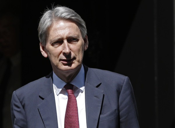 Image: Britain's Foreign Secretary Philip Hammond